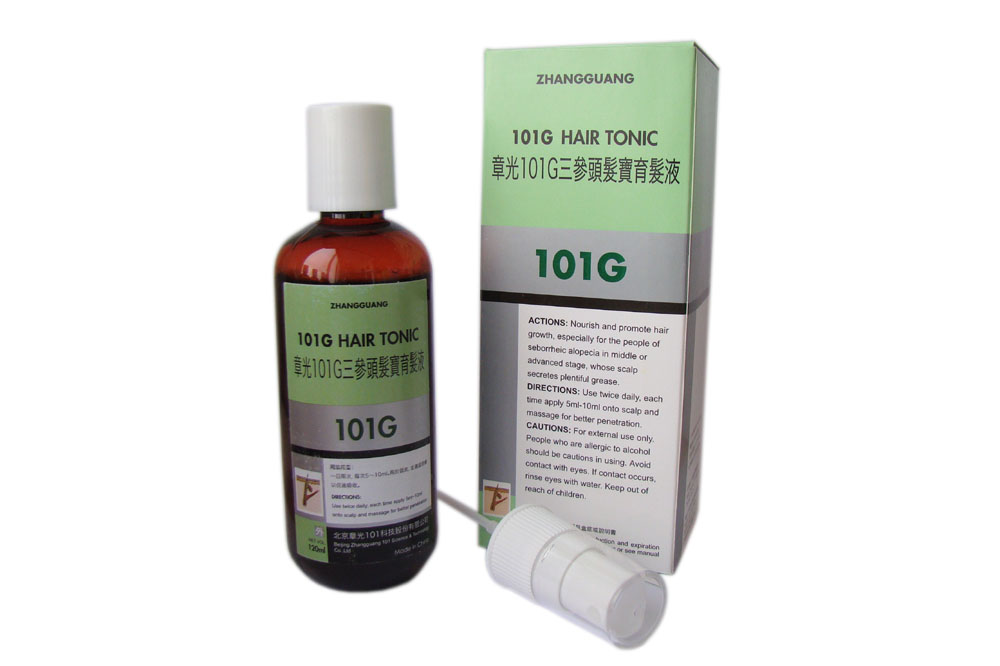 Zhangguang 101G Hair Tonic (export-packing)